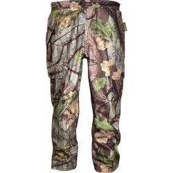 Jack Pyke Junior HuntersTrouser EVO Leaf Girls Boys Warm Fishing Camo Waterproof