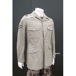 "Genuine Surplus British No6 Dress Jacket Army Beige 39"" Chest Formal Uniform 060"