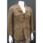 "Genuine Surplus Belgian Army Officers Dress Jacket Army 34-36"" Chest Uniform 062"