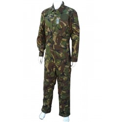"""Gs Dutch Military Army DPM Camo Tank Suit Overall Flight Suit  42""""Chest Tall"""