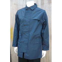 GS British RAF Waterproof Rainproof Wet Weather Jacket PVC Windproof Blue Grey