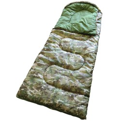 CHILD'S KIDS ARMY BTP /MTP STYLE CAMOUFLAGE ENVELOPE SLEEPING BAG ARMY DEN BASE