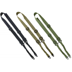 KT Airsoft Tactical Basic Nylon Adjustable Sling Airsoft Black Green Coyote