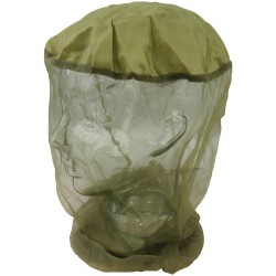 KT Micro Mosquito Midge Head Net Insect Bug Repellent Head Protection Green