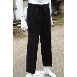 British Navy Surplus No3 Dress Trousers Black Naval Military Formal Smart
