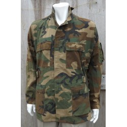 Genuine Surplus US Woodland Jacket Coat Army Military Combat Camouflage Medium
