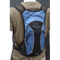 Ex-Display Highlander Hydration Pack Gobi 2L Water Bladder 7L Backpack Blue 107