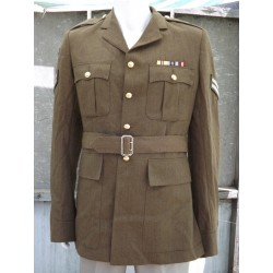 "Genuine Surplus Smart Army Dress Jacket Army Tan 42"" Chest Formal Uniform 132"