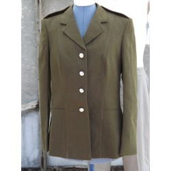 "G Surplus Womens Army Dress Jacket Army Olive 36"" Chest UK 12 Formal Uniform 134"