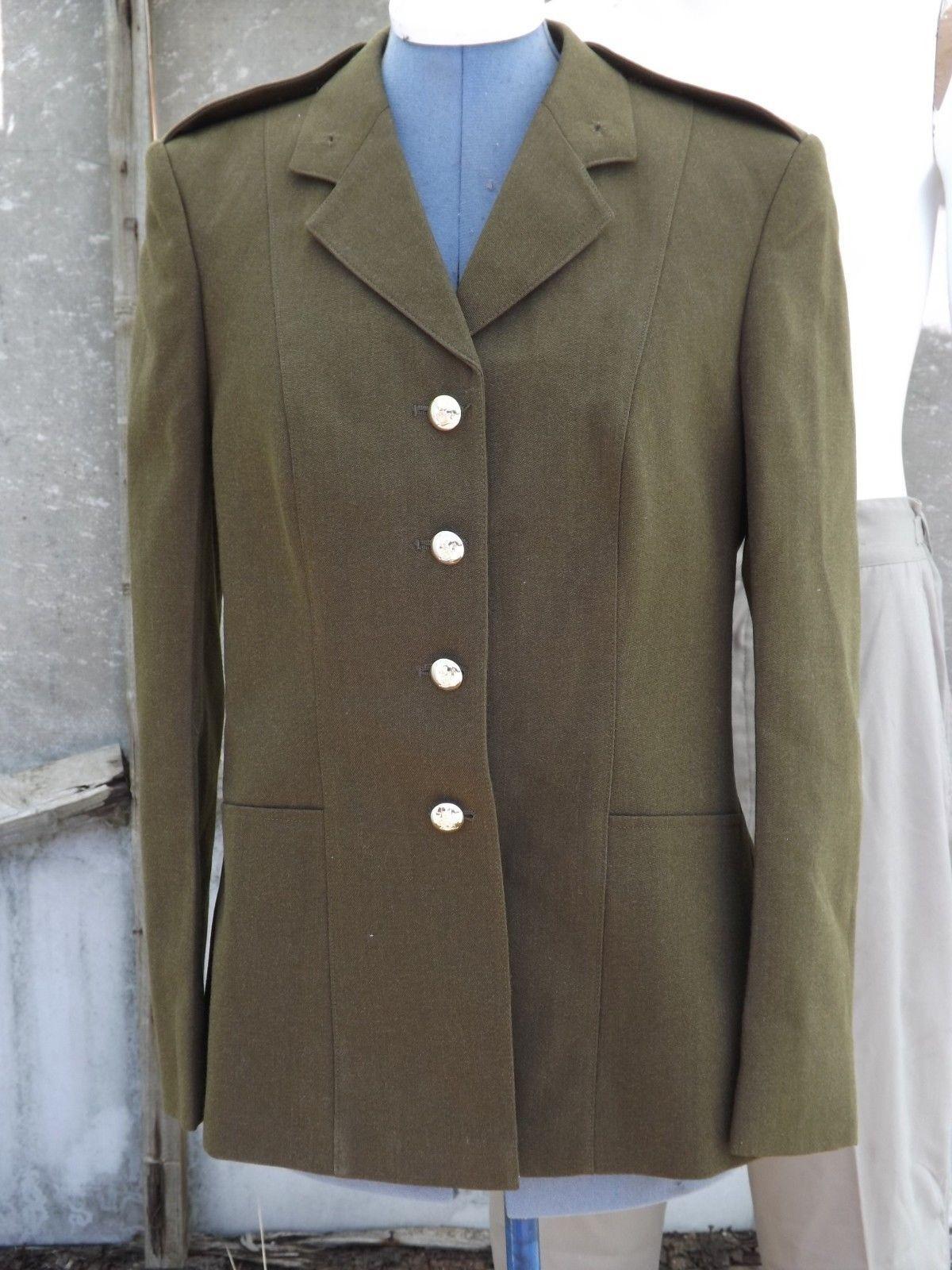 G Surplus Womens Army Dress Jacket Army Olive 36