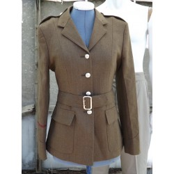 "G Surplus Womens Army Dress Jacket Army Tan 36"" Chest UK 12 Formal Uniform 136"