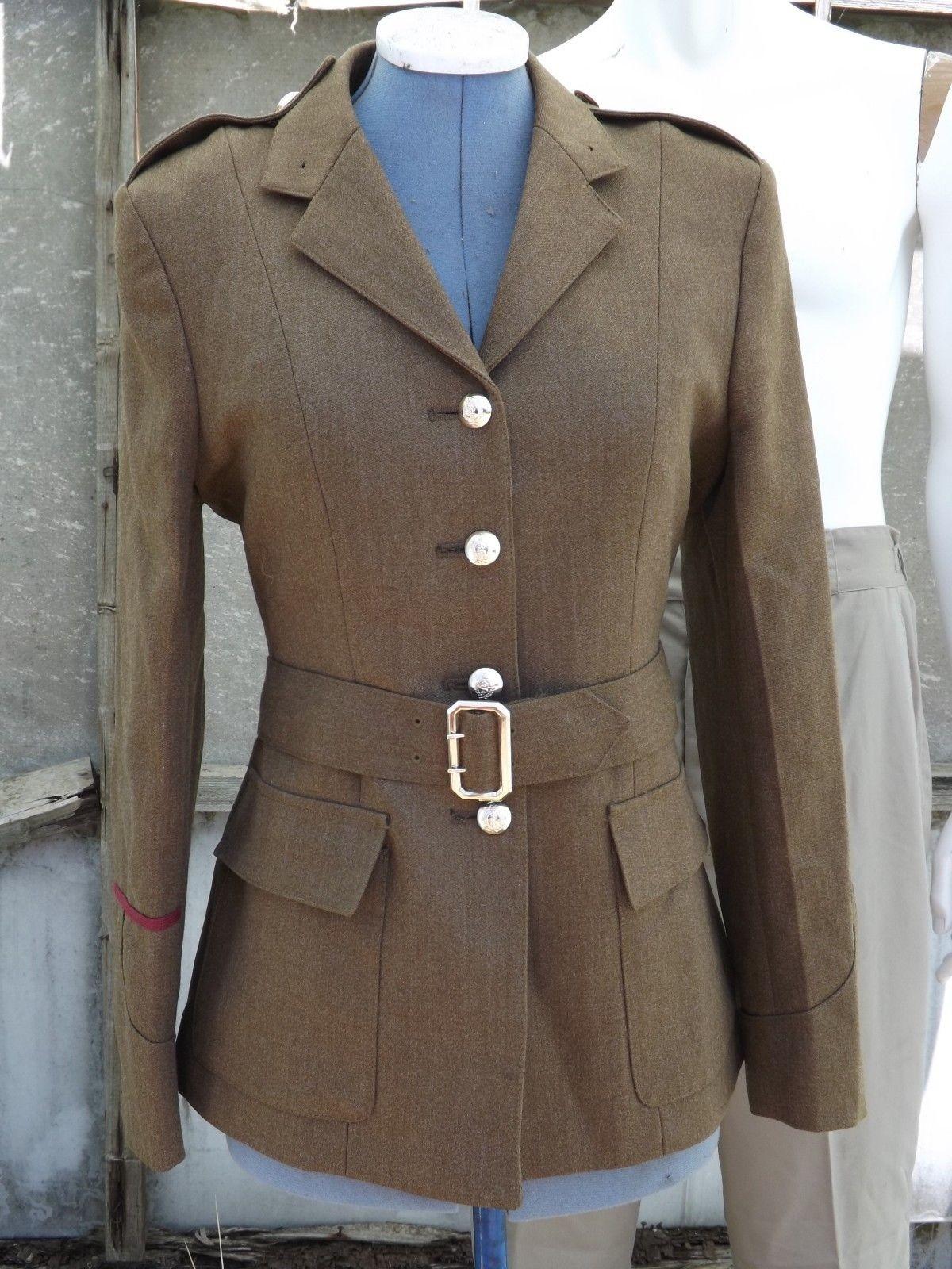 G Surplus Womens Army Dress Jacket Army Tan 36