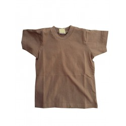 Highlander Kids Coyote Tan Military Style T-Shirt Army Forces Brown Child's