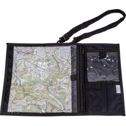 Highlander Compact Explorer Map Case Black Hiking Walking Rain Cover Deluxe