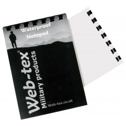 Web-Tex  A6 50 Page Waterproof Notepad  CADETS FORCES RAF Army Scouts