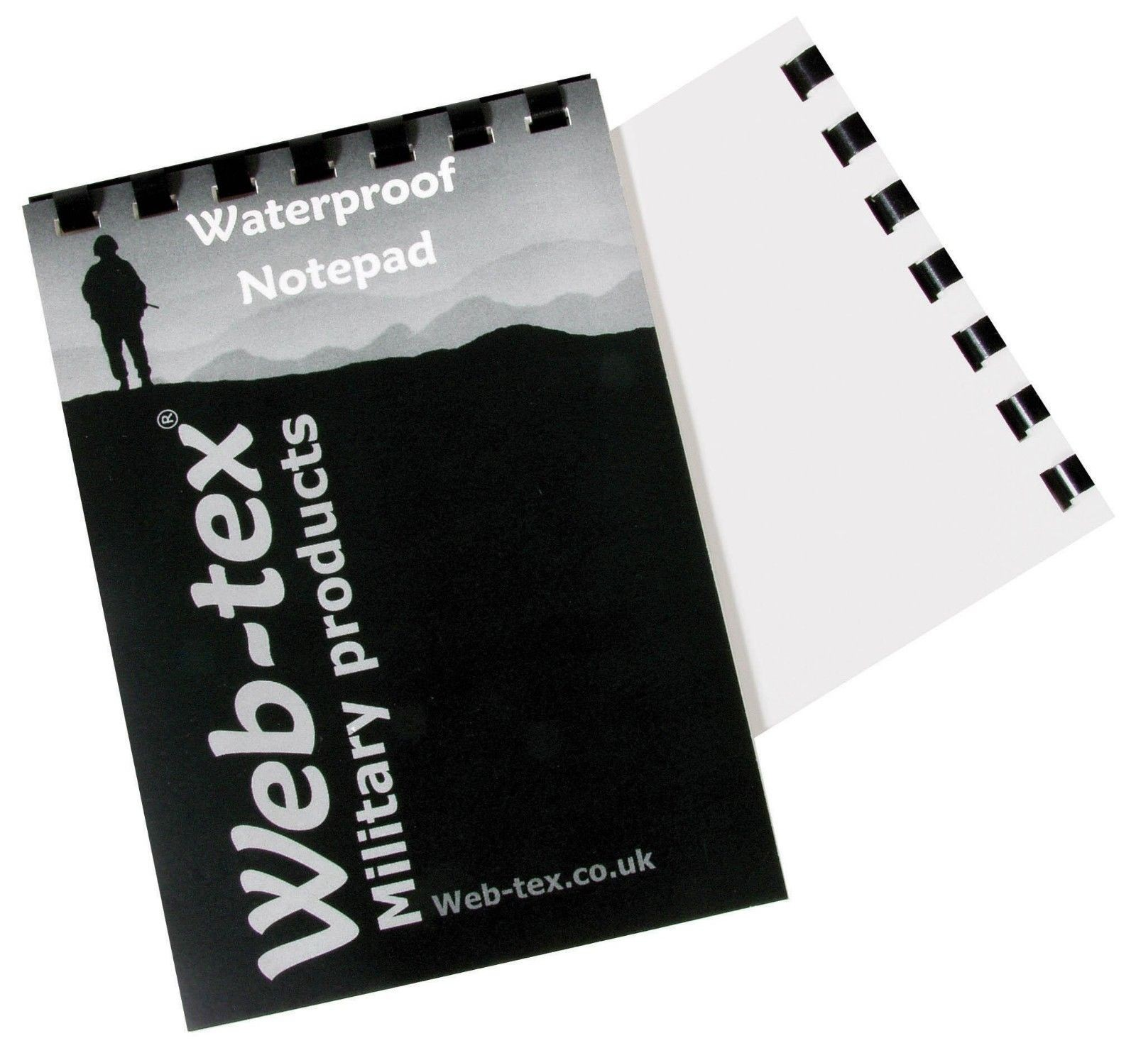 53ebad778241 Web-Tex A6 50 Page Waterproof Notepad CADETS FORCES RAF Army Scouts -  Military and Outdoor