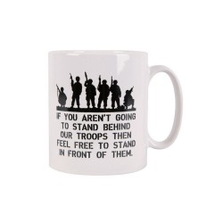 Tea Coffee Mug Drink Ceramic Kitchen New Military History Army Support Troops