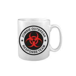 Tea Coffee Mug Drink Ceramic Kitchen New Zombie Outbreak Response Team