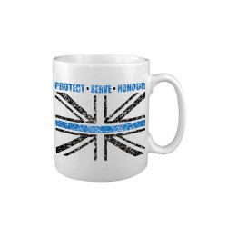 Tea Coffee Mug Drink Ceramic Kitchen New Police Thin Blue Line Support