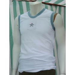 Genuine Surplus British RAF PT T-shirt Vest Training Top White Brand New