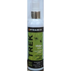 Pyramid Trek Deet Free Mosquito, Midge, Tick Repellent Spray 120ml