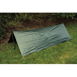 Highlander Military Basha Lightweight Strong Waterproof Olive Green Tent