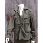 "Army Surplus Russian Vintage Jacket Green Military Original Reclaimed 38-40"" 179"