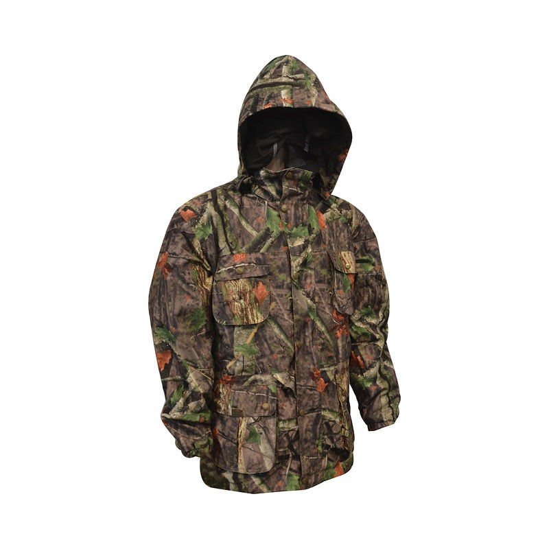 f48c8b74b2612 Ex-Display MENS WATERPROOF HUNTERS WOODLAND CAMO COAT Rexmoor Jacket Small